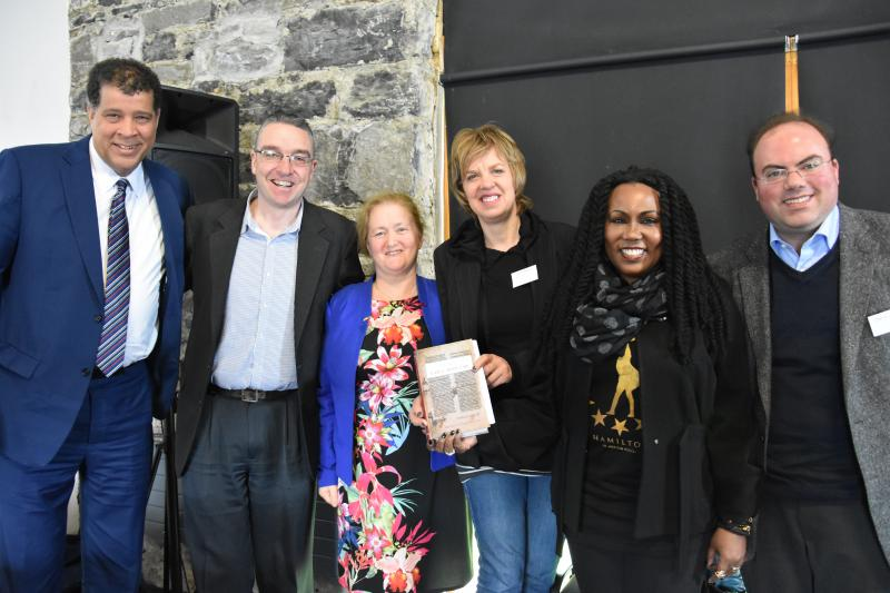 Burren Law School Committee members with speakers of the 2017 conference