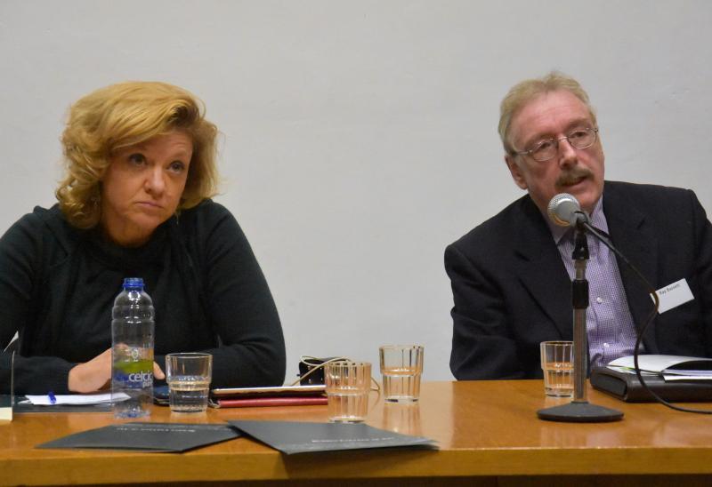Monica Frassoni and Ray Bassett