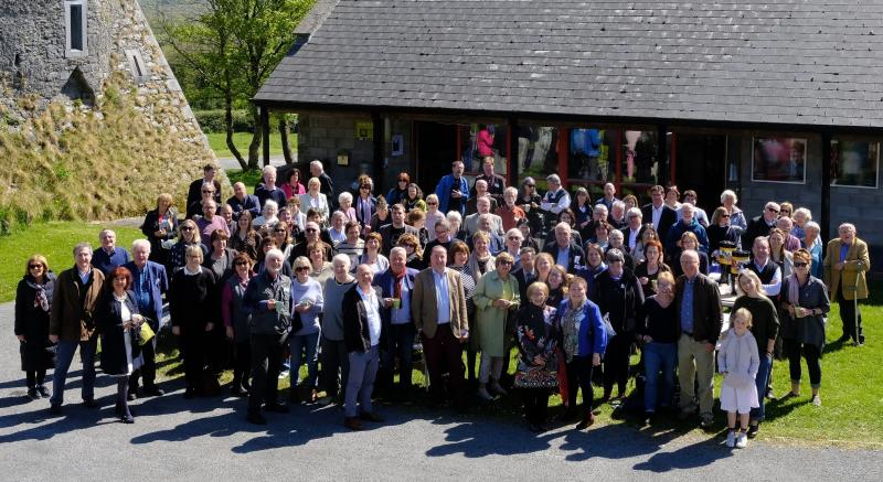 One last group photo of attendees of the Burren Law School 2019